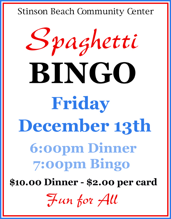 Holiday Bingo is Coming! Come Play!