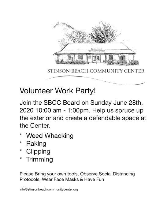 Volunteer Work Party!