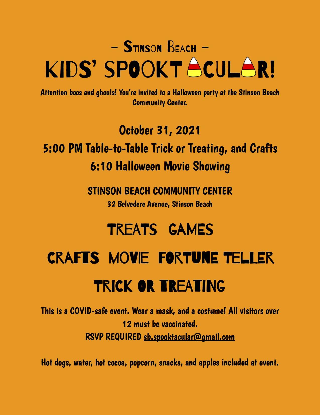 ? ? Kids Spooktacular